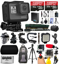 GoPro Hero 5 Negro chdhx-501 with 128gb Ultimate Pack de accesorios paquete kit