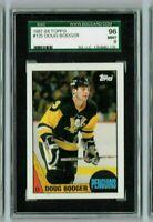 DOUG BODGER 1987-88 Topps Hockey SGC MINT 96/9 & Bonus Cards always added