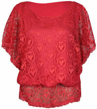 Taillenlange Damenblusen, - tops & -shirts aus Mesh-Normalgröße