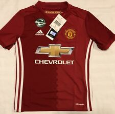 Adidas Manchester United Home Soccer Jersey. Youth Size: Medium