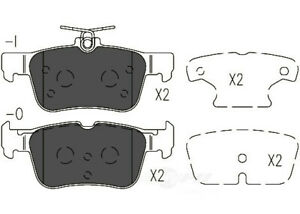 Disc Brake Pad Set-TSS Ceramic Pads Rear Dash 4 Brake TD1833C