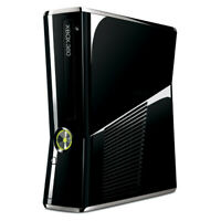 Microsoft Xbox 360 Slim - 250GB - Black Replacement Console Only No Accessories