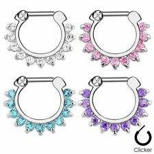 Surgical Steel Ring Nose Piercing Jewellery
