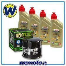 Kit Tagliando Olio CASTROL 10W40 filtro HIFLO HF204 Triumph Speedmaster900 07 09