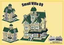 Custom instruction, consisting of LEGO elements - Small Villa 09