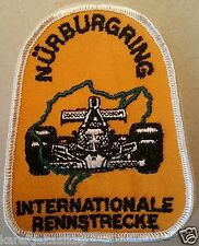 Vintage Sew-on Patch Nurburgring International Race Track