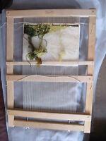 "Old  Wooden Sweden tapestry  Weaving Loom Glimakra 31"""