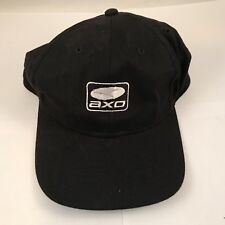 Axo Black Hat Vinatage New Old Stock White L@@K Motocross Racing