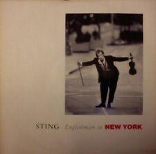 "Sting Englishman in New York 3 track Uk 12"""