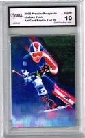2008 Lindsey Vonn  Skiing Rookie Card  of 20 Gem Mint 10