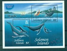 BALEINES - WHALES SOLOMON ISLANDS 1997 block