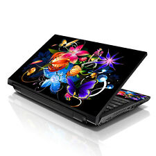"""13.3"""" 15.6"""" 16"""" Laptop Skin Sticker Notebook Decal Multi Color Floral M-A29"""