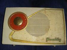 VINTAGE WORKING PERDIO PICCADILLY TRANSISTOR 7 portable RADIO 1950's