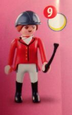 Playmobil Mystery Figure Series 1 5204 Horse Jockey Crop Complete NEW Last One!
