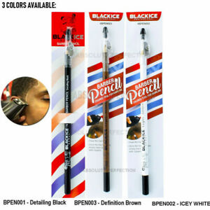 Black Ice Spray Barber Pencil Edge Hairline Razor Trace BLACK, Nude, WHITE (1PC)