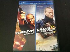 CRANK + CRANK 2 HIGH VOLTAGE  DOUBLE FEATURE ( DVD ) JASON STATHAM