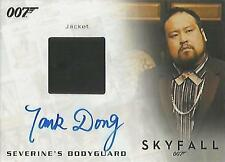 "James Bond Archives Final: Tank Dong ""Bodyguard"" Autograph Costume Card #165/500"
