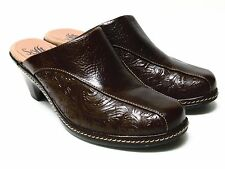 Sofft Browns Leather Mules Size 7 1/2 M