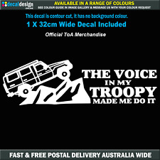 The Voice In My Troopy Made Me Do It Decal Official ToA Merchandise #TOA019