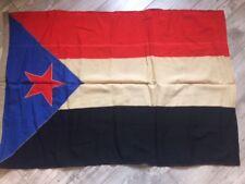 Rare !!!!  Socialist South Yemen USSR Flag Navy Fleet Original Wool Soviet
