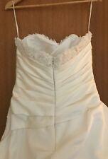 wedding dress strapless size 12