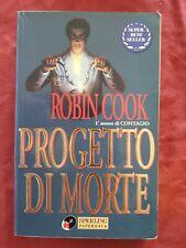 Libro Progetto di morte di Robin Cook sperling paperback #TO1
