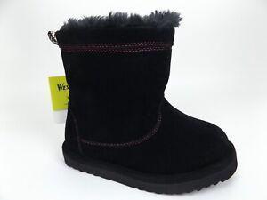 Western Chief Girls Fashion Boot, Makena Black, SZ 9.0 M US Toddler. NEW! 1548