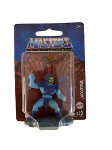 """Mattel Masters of the Universe Skeletor Figurine Toy Cake Topper 2"""" Mini Fig New"""