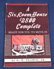 A Six Room House $2800 Complete Ready to Move In G.W. Pearce Jr. 1947 SC Illustr