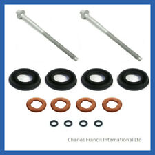 FORD TRANSIT 2.4 3.2 TDCi DIESEL INJECTOR SEAL KIT + INJECTOR CLAMP BOLTS