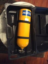 SCBA Honeywell North 80021 Yellow 2216 PSI Aluminum Air Cylinder With Case
