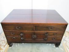 Antique 20th Century Chinese Wooden Chest Cabinet