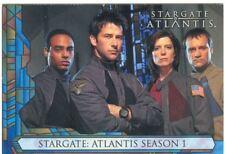 Stargate Atlantis Season 1 Promo Card Sd2005