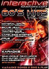 Karaoke 80's Hits - Interactive: Volume 1 [DVD], Good DVD, ,