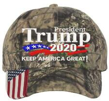 fefc1317f1c Donald Trump 2020 Keep America Great Embroidered Camo USA Brim Adjustable  Hat