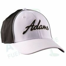 "Adams Tour CAP ""CROSS Town"" nero/bianco, fitted Taglie S/M 54 - 59 cm LSF 25+"
