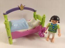 sympa lit enfant princesse playmobil ( meuble maison   ) 1825