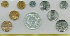 Magnifique monnaie franc 1980 - neuve sous blister MDP - FDC - BU - Coffret