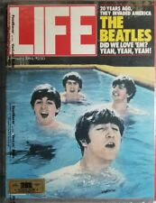 LIFE MAGAZINE THE BEATLES 20 YEARS AGO COVER FEBRUARY 1984