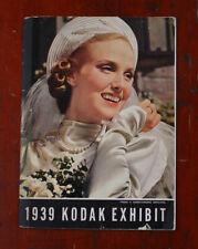 KODAK 1939 kodak EXHIBIT BROCHURE/cks/216072