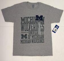 NWT Michigan University Wolverines College T Shirt, NCAA, M 38/40
