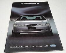 1995 FORD FAIRMONT & Ghia  Australian  Sales Brochure