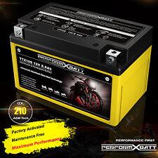 AGM Motorcycle Battery 12V 8.6Ah KTM 200 390 Duke RC 390 640 Duke II 690 Duke R