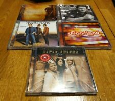 Country CD Lot of 5  Blake Shelton, Sugarland, Rascal Flatts, & Dixie Chicks