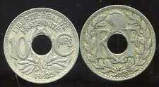 FRANCE  FRANCIA  10 centimes  1923  LINDAUER   poissy