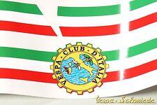 """Bannière garde-Boue & pages capot """"vespa club d'Italia"""" - Italy Italie Autocollant"""