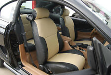 FORD MUSTANG 1994-2004 IGGEE S.LEATHER CUSTOM FIT SEAT COVER 13COLORS AVAILABLE