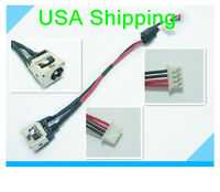 Original DC power jack in cable for DELL INSPIRON MINI 10 (1012)