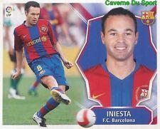 INIESTA ESPANA FC.BARCELONA STICKER LIGA ESTE 2009 PANINI