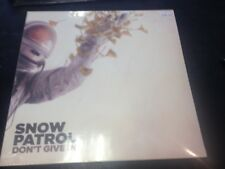 """SNOW PATROL - DON'T GIVE IN 10"""" RECORD STORE DAY RSD 2018 NEW MINT SEALED"""